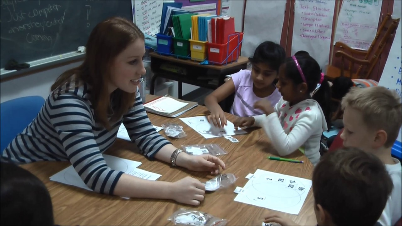 4th Grade Classroom1 Small Group Instruction Guided Math Youtube