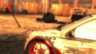 FlatOut Wii trailer - carbasher mode