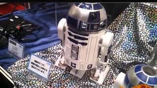 Tokyo Toy Show 2012 - Sega Toys R2-D2 Homestar EX Planetarium
