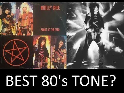 Guitar tone secrets of Mötley Crüe and Mick Mars?