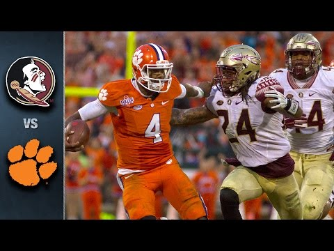 FSU vs. Clemson Football Highlights (2015)