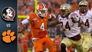fsu vs clemson football highlights 2015