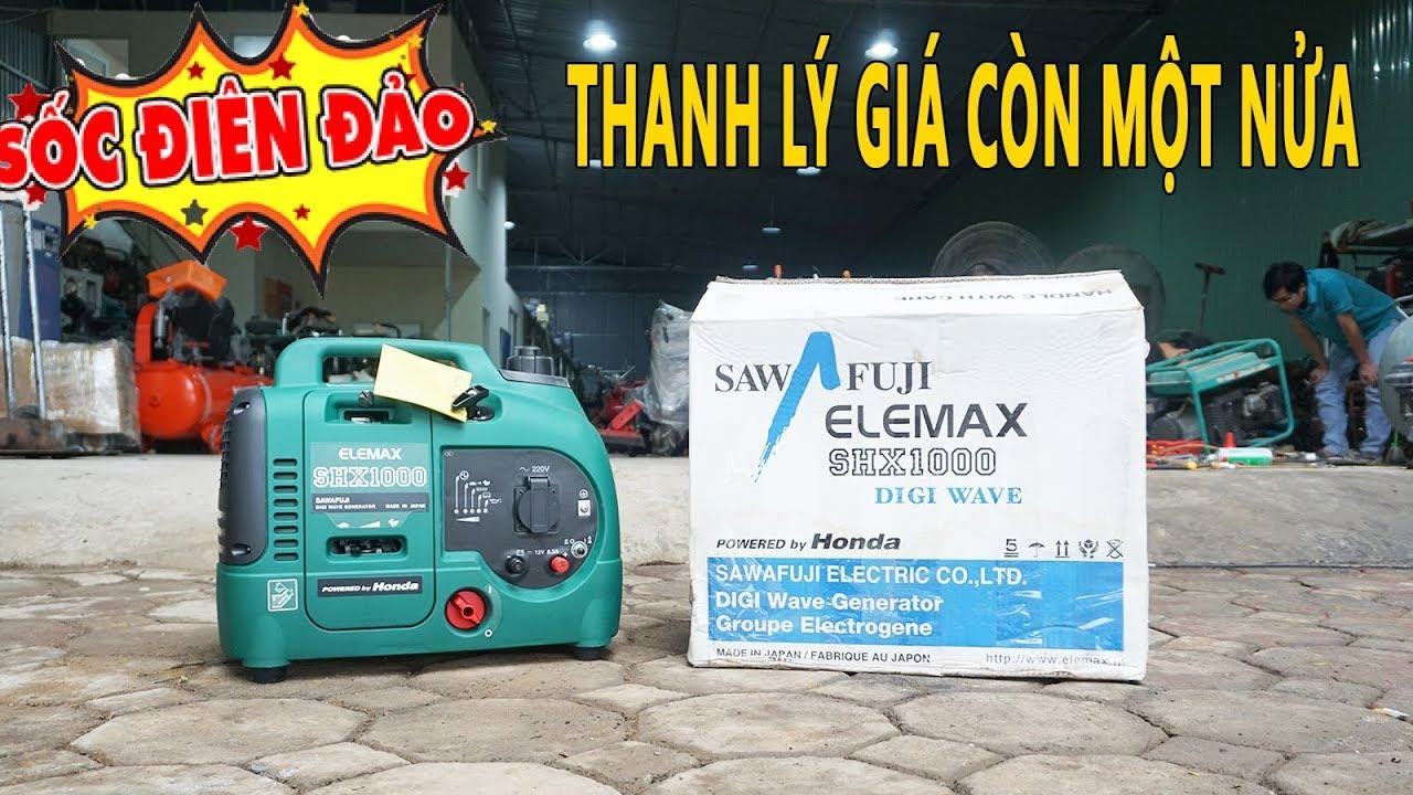 Thanh Lý 6 Chiếc Máy Phát Điện Nhật Elemax SHX1000 Mini Xách Tay Giá Sốc