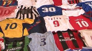 Коллекционер футболок спортклубов - Видео от Мир Белогорья