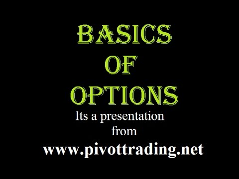 Basics of Options Trading In English – www.pivottrading.co.in