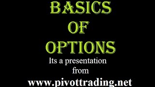 Basics of Options Trading In English - www.pivottrading.co.in