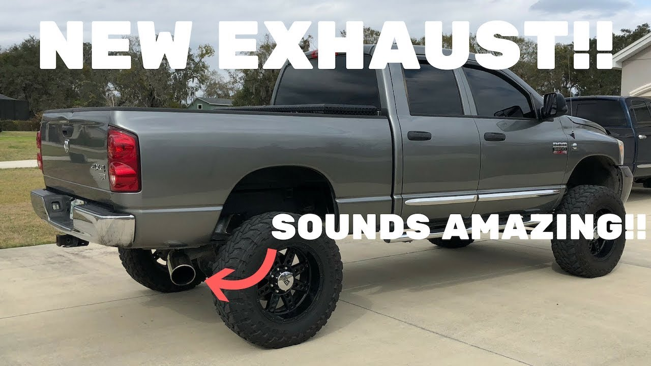 new exhaust 5 turbo back vs straight pipe exhaust comparison