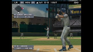 High Heat Major Baseball 2003 (PLAYSTATION 2) LA Dodgers vs Houston Astros