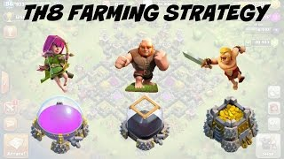 TH8 BEST Farming Strategy (FAST SIMPLE AND EASY) 2016