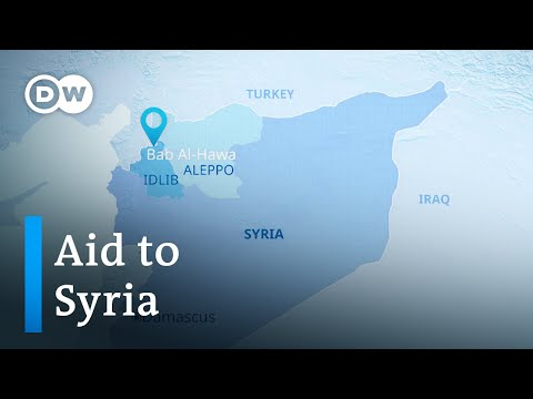 UN authorizes aid deliveries to Syria for one year | DW News