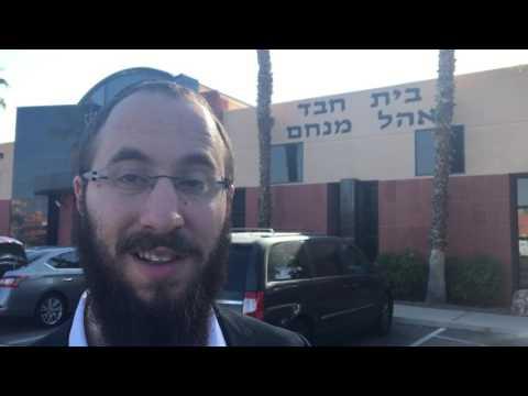 Rabbi Levi Harlig discusses arson attack at Las Vegas Jewish Community Center
