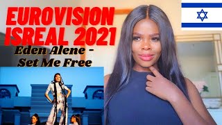 Eden Alene - Set Me Free - official Music Video - Israel - Eurovision (REACTION)