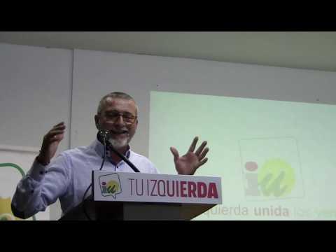 Presentación Candidatura IU La Puebla Del Río - Municipales 26M - Antonio Angulo
