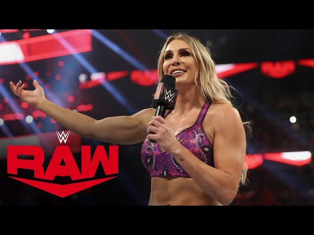 Charlotte Flair doesn't reveal who she will face at WrestleMania: Raw, Jan. 27, 2020