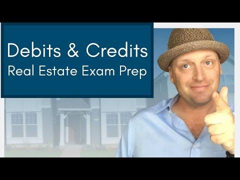 Real Estate Exam Prep: Debits vs Credits   Key Topics