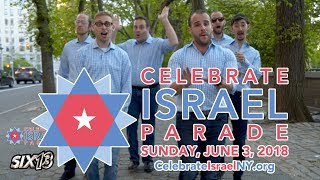 Six13 - Sababa! (2018 NYC Celebrate Israel Parade Theme)