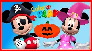 Mickey Mouse Clubhouse Halloween Game - Mickey And Minnie - Disney Junior App For Kids