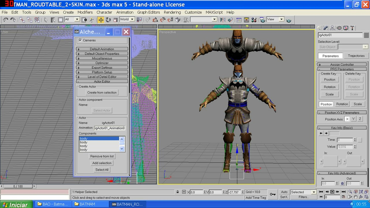 Download Exporting 3d models to Marvel Ultimate Alliance.