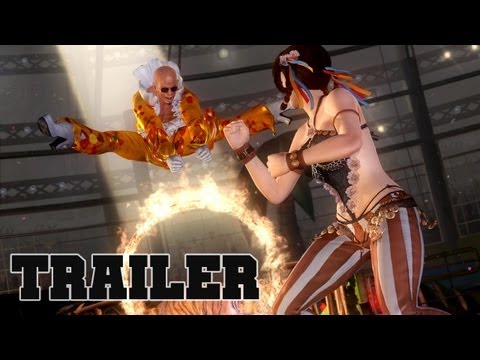 DEAD OR ALIVE 5 Lei Fang Vs Zack Official Trailer