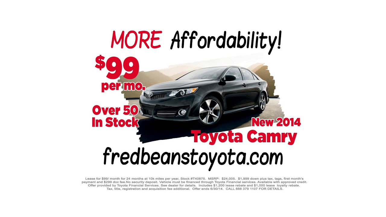 Beans Means More Fred Toyota Of Flemington Nj Dealer