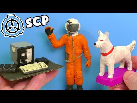 SCP-079 Старий ІІ, SCP-1959 Зниклий космонавт, SCP-1111 Білий пес - Ліпимо з пластиліну