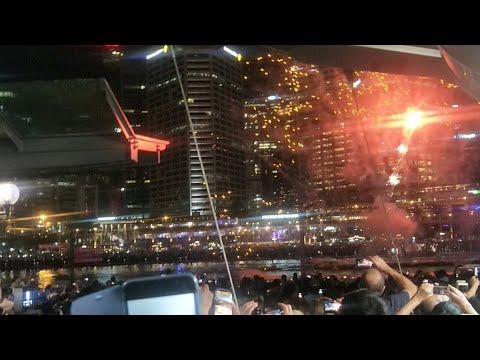 NYE 9pm Fireworks Live From Darling Harbour, Sydney,  Aust