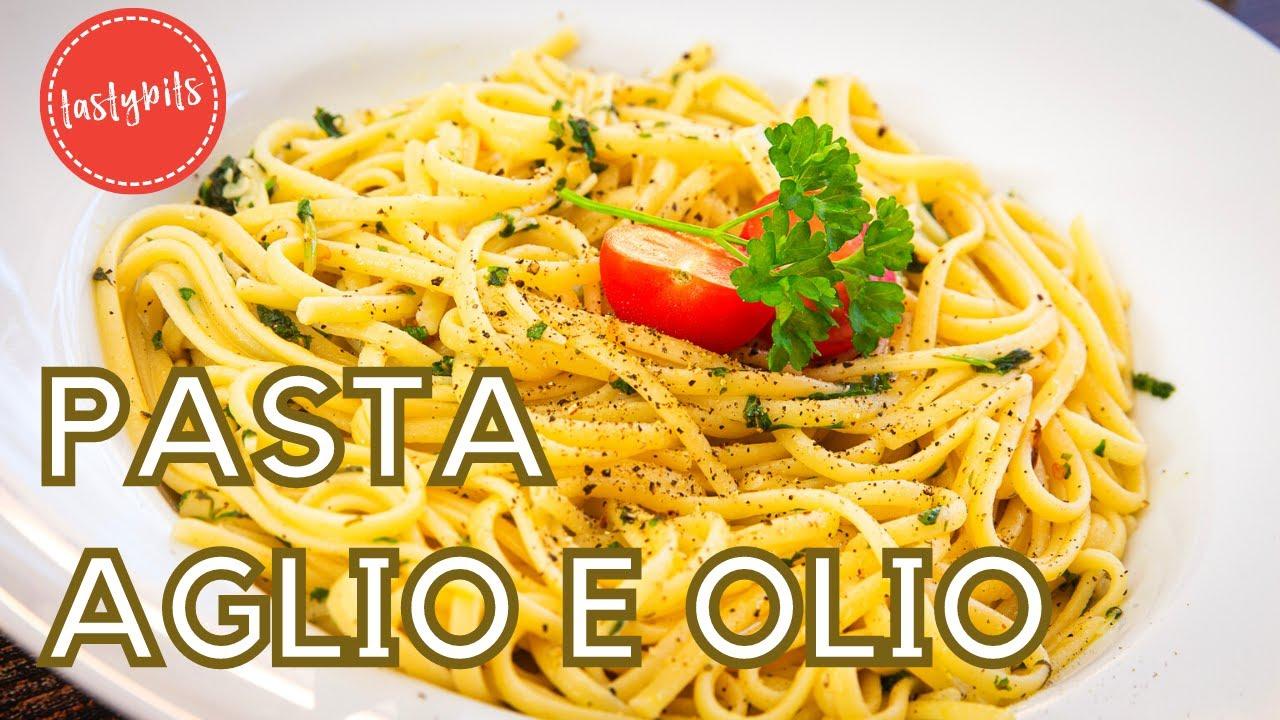 Spaghetti aglio e olio   meine Lieblingspasta mit Knoblauch ...