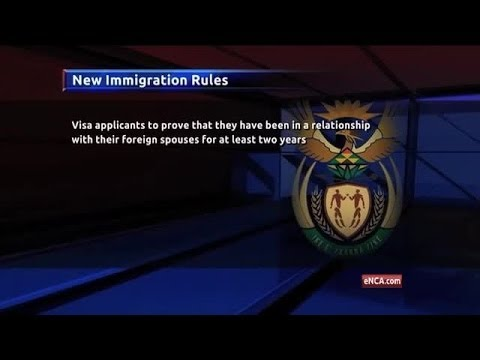 New SA Immigration Laws Under Fire