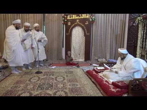 Eid ul Fitar 1437H Majlis - Bestowing of Laqab on Shehzadas of Syedna Qutbuddin RA