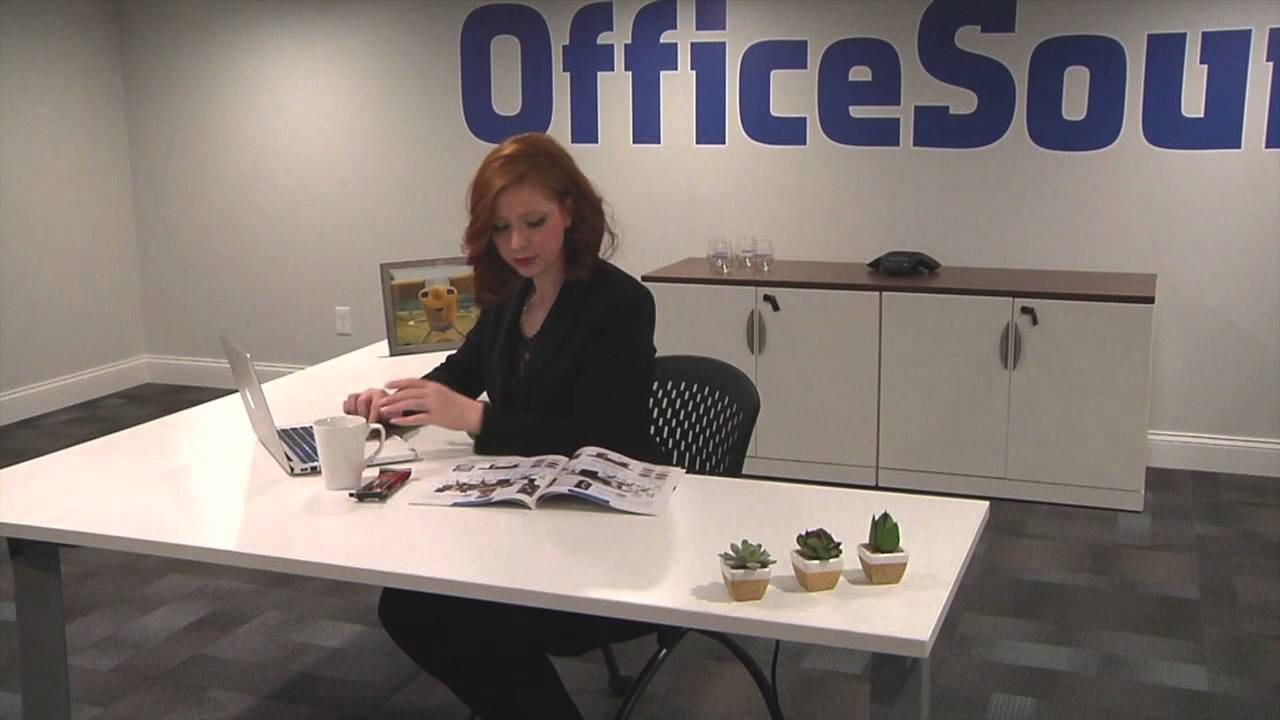 StandUp Standing Desk Series by OfficeSource YouTube
