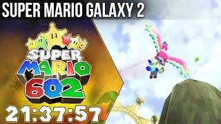 602 Speedrun in 21:37:57 - Super Mario Galaxy 2