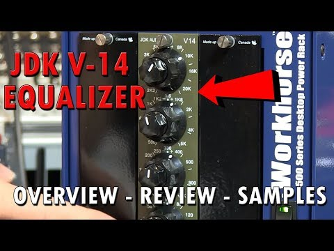 JDK V14 Equalizer 500 Series Module Review   Pure Wave Audio