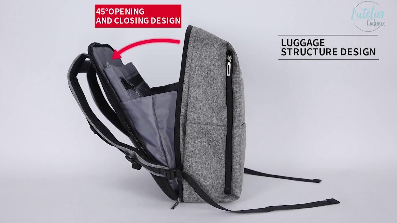 le sac dos usb multifonction trendy style youtube. Black Bedroom Furniture Sets. Home Design Ideas