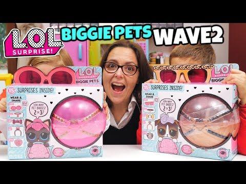 LOL SURPRISE Biggie Pets WAVE 2: Apriamo SPICY KITTY e DJ K9