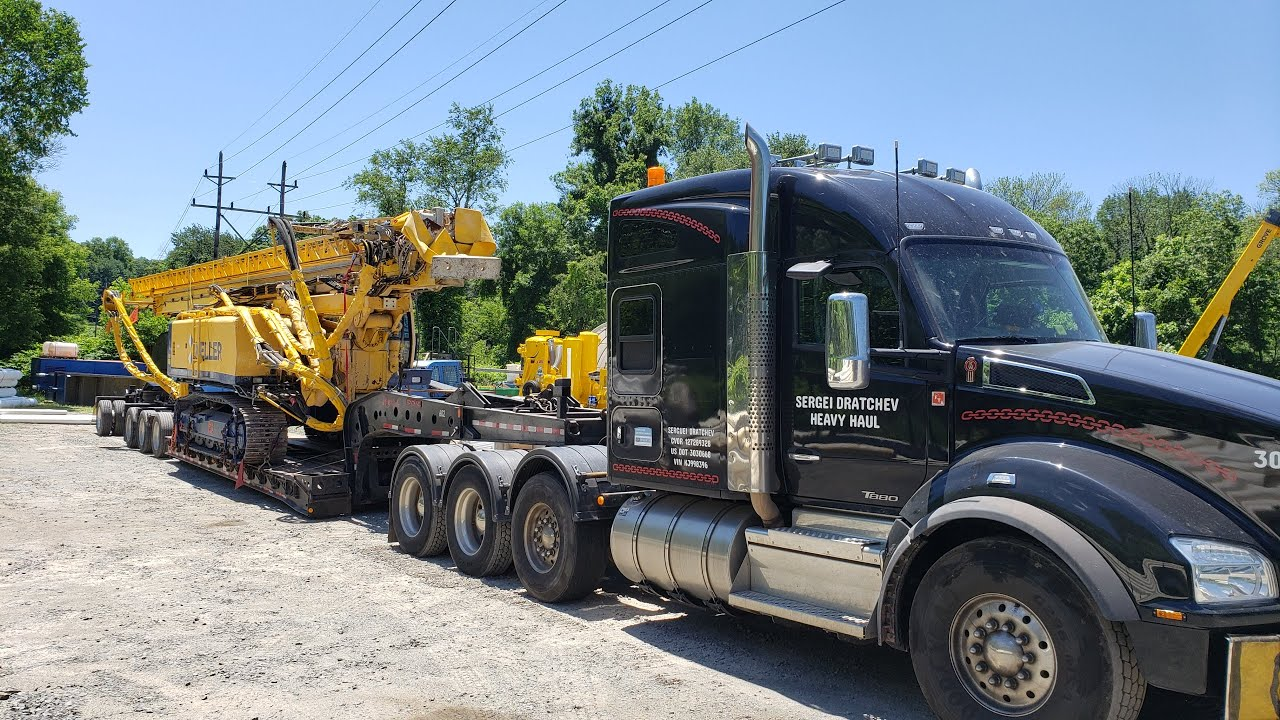 Drill Rig -- 93,500 LB -- NJ to ON