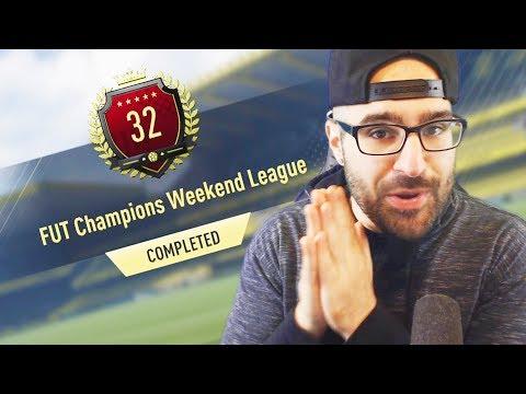 WOW 32 IN THE WORLD!! TOP 100 REWARDS FUT CHAMPIONS!! FIFA 17