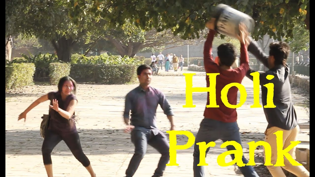 Holi Prank 2014 | Pranks in India | TST Pranks