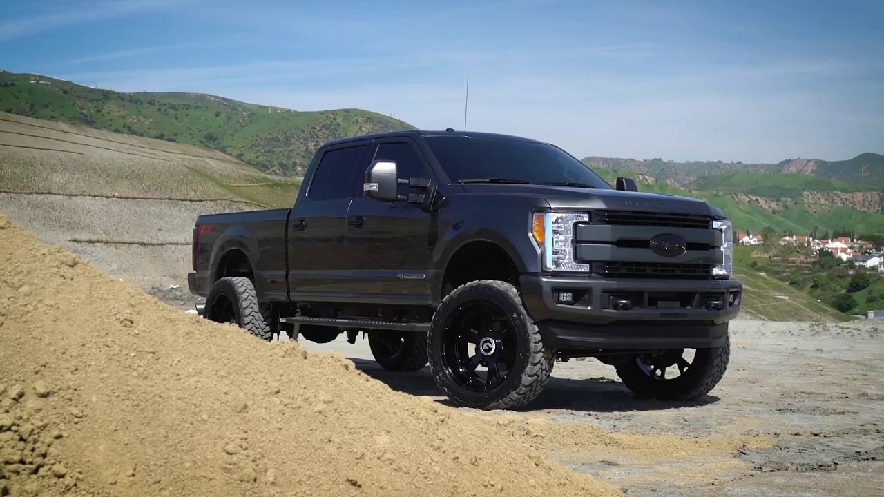 2017 F250 Lifted >> FORGIATO | Ford 250 Lifted on Terra Series - YouTube