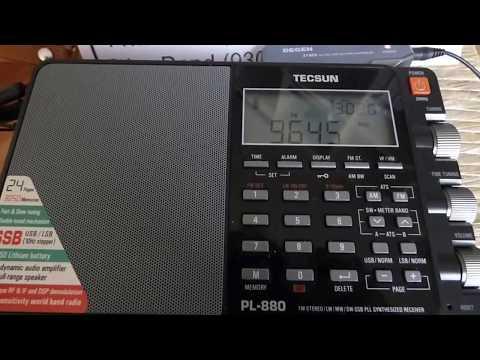 9645 kHz - VATICAN RADIO (Ukranian/Romanian Liturgy)
