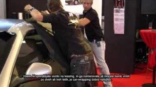 Folija, ki avto ščiti tudi pred točo