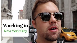 Job Hunting in New York - NYC Vlog