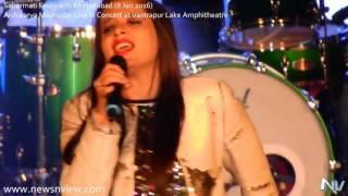 Aishwarya Majmudar Live in Concert Teri Galiyan Mash Up Sabarmati Festival 2016 Ahmedabad