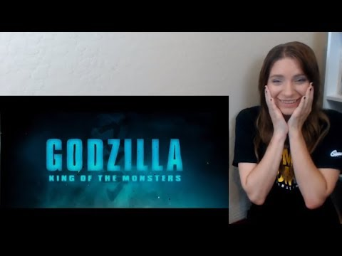 Godzilla: King of the Monsters Official Comic Con Trailer Reaction