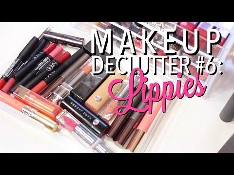 Makeup Declutter #6 | Lip Products