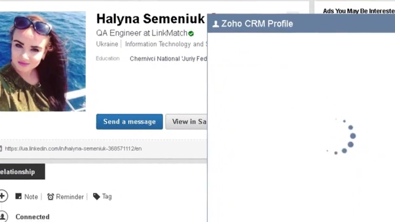 how to download linkedin profile
