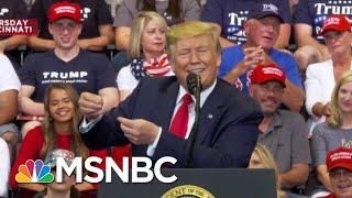 2020 Dems Say Donald Trump's Rhetoric Shares Blame For Shootings   Velshi & Ruhle   MSNBC
