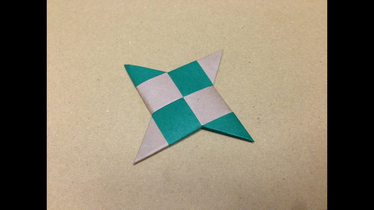How to Fold an Origami Star Shuriken You dont have to go to a weapon store to have your very own ninja star or a Shuriken You can make one or