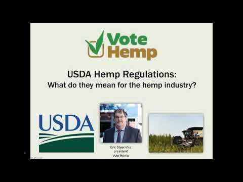Vote Hemp analysis of the USDA Interim Final Rule hemp production regulations