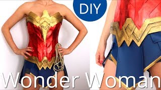 Haz la Armadura de Wonder Woman I Cosplay I Craftabulous