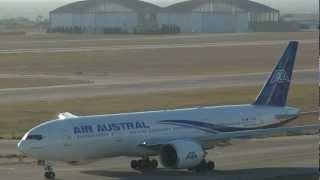 Air Austral UU946 take off at Marseille Provence Airport MRS/LFML